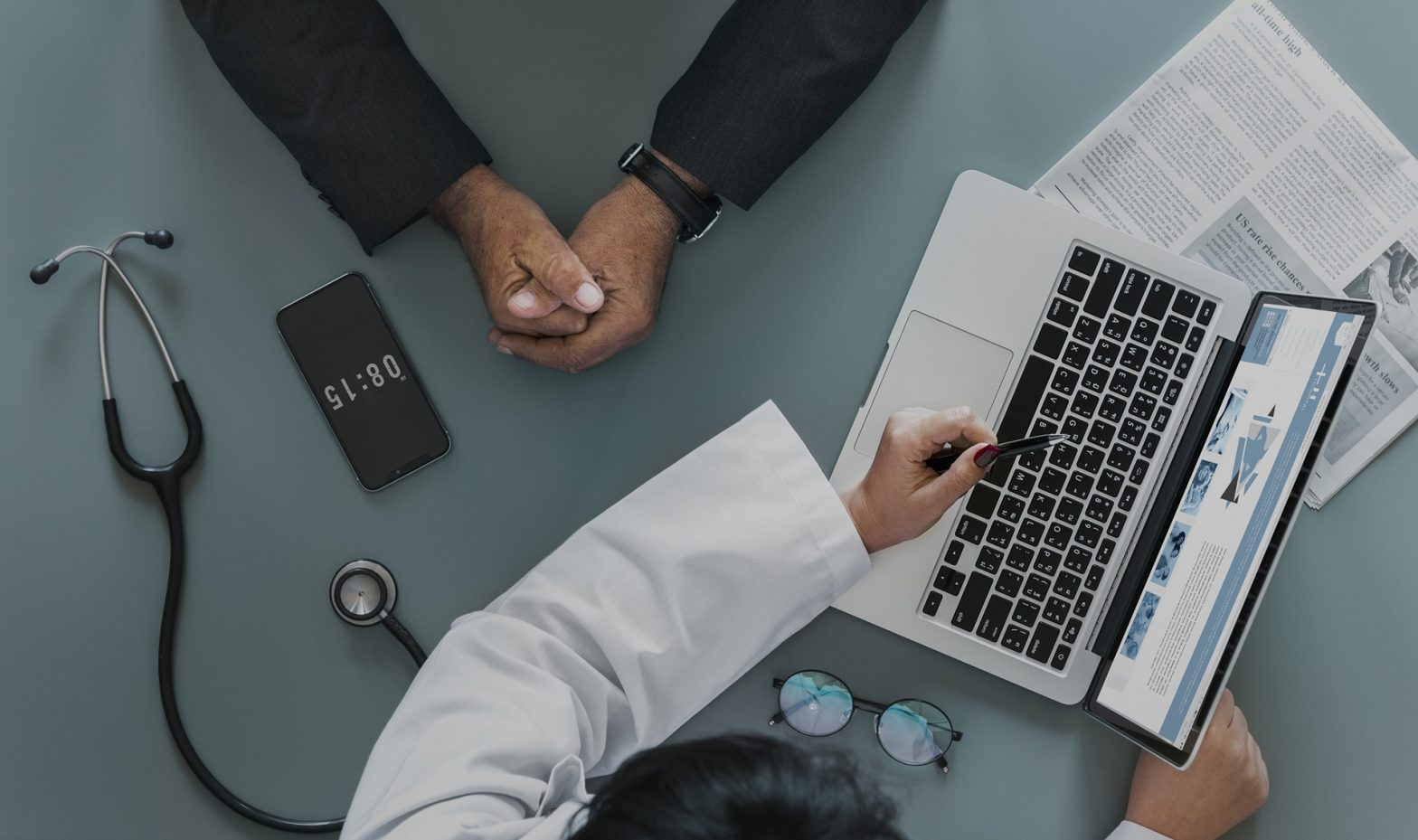 healthcare and ehealth computer
